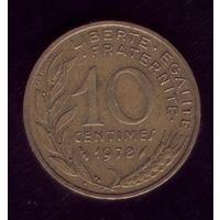 10 сантимов 1978 год Франция