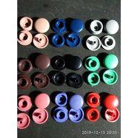 Одежные кнопки пластиковые оптом 8000 шт