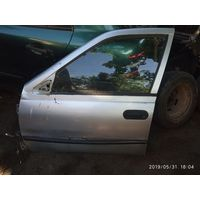 Лот 802. Передняя левая дверь Nissan Sunny N14. Любая запчасть с двери за 5 рублей! Пишите в комментарии что покупаете.