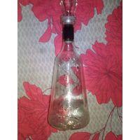Какая то старая бутылка или графин, красивая