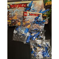 Конструктор LEGO Ninjago 70614 Самолет-молния Джея /пакеты 5, 6, 7/