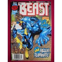 Оригинальный комикс Marvel Beast #2 1997