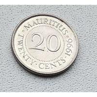 Маврикий 20 центов, 1996 1-4-17