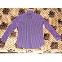 Рубашка Hawes & Curtis 100 % хлопок оригинал.48 (M).180см, ворот 40.