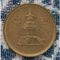 Южная Корея 10 вон 1995 года. Инвестируй в коллекционирование!
