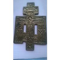 Крест Распятие Христово с предстоящими. Сохран