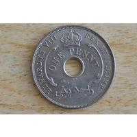 Британская Западная Африка 1 пенни 1936 KN Эдуард VIII