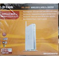 ADSL-маршрутизатор (модем) D-Link DSL-2650U/BRU/D2