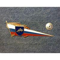 Знак на берет (кокарда) России