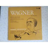 Wagner-konzert. Tristan Und Isolde: Vorspiel und Isoldens Liebestod. Der Fliegende Hollander: Ouverture. Tannhauser: Ouverture und Bacchanale.