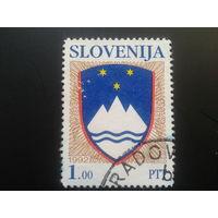 Словения 1992 стандарт, герб