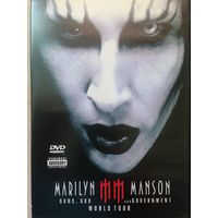 DVD MARILYN MANSON guns,god and government world tour