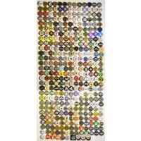 Коллекция пивных пробок (все разные!) 361 шт. + 55 необжатых = всего 416 шт.