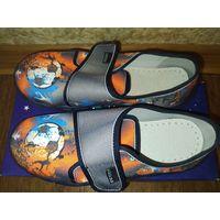 Новые кеды ботинки, стелька 21 см