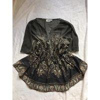 Блуза пляжная 40-48 Цвет дымчатый Считается безразмерная