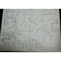 Оригинальная карта Свислочского района 1855г.