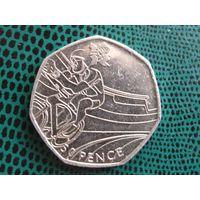 50 пенсов, Великобритания, 2011, Велоспорт