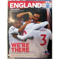 2009 Англия - Беларусь