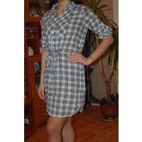 Платье рубашка известной фирмы р.С-М