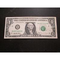 1 доллар США 1995 г., B 40573333 W, XF