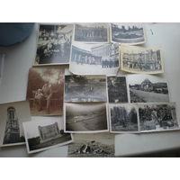 Подборка фотографий периода 3 рейх, Германия, первая мировая война, Гинденбург, парад, могилы, 15 шт. одним лотом