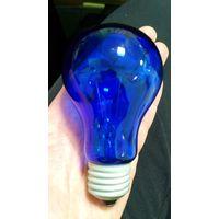 Лампочка синяя. Рабочая!