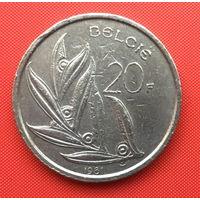 Бельгия, 20 франков 1981 г. Фламандский тип. Распродажа!