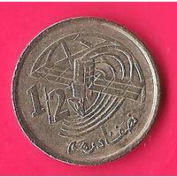 44-35 Марокко, 1/2 дирхама 2002 г.