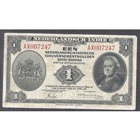 Голландская Индия 1 рупия 1943 г.