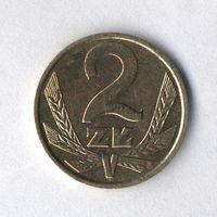 Польша, 2 злотых 1988 г.