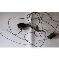Активная телевизионная портативная рамочная антенна со своим блоком питания и возможным подключением другого источника