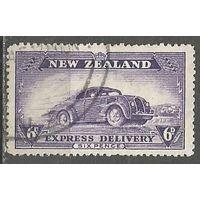 Новая Зеландия. Курьерский автомобиль. 1939г. Mi#250.