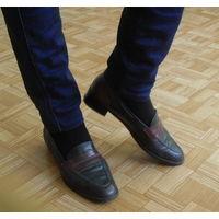 Туфли итальянские. Натуральная кожа.( 40 размер)