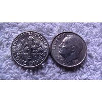 США 10 центов 1993D. распродажа