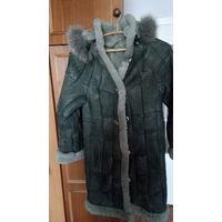 Пальто меховое девичье дешево