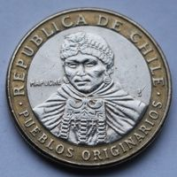 Чили, 100 песо 2012 г.