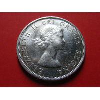 1 доллар 1958 года (100 лет со дня основания Британской Колумбии)