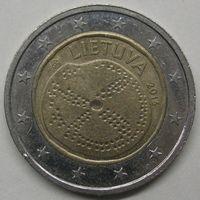 Литва 2 евро, 2016 Балтийская культура