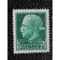 Италия 1929 г. Король Виктор-Эммануил III.