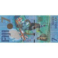 Фиджи 7 долларов 2017 (ПРЕСС)