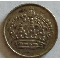 Швеция 25 эре 1960 серебро