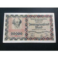Германия,20 000 марок,1923.