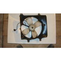 Вентилятор радиатора Мазда 323 1989г 1,3 бензин кузов ВF б/у