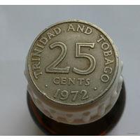 25 центов 1972 Тринидад и Тобаго