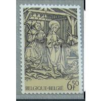 БЕЛЬГИЯ - 1981, Рождество, Mi# 2082, MNH (РН)