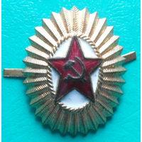 Кокарда офицерская образца 1955 года.
