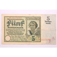 Германия, 5 рентмарок 1926 год
