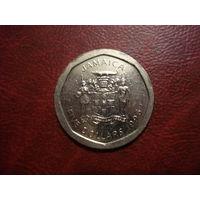 5 долларов 1996 год Ямайка