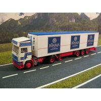 Модель грузового автомобиля Volvo F12 (10). Масштаб НО-1:87.