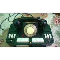 Телефонный аппарат ДИРЕКТОРСКИЙ телефон-концентратор КД-6( Для декора ретро интерьера . )